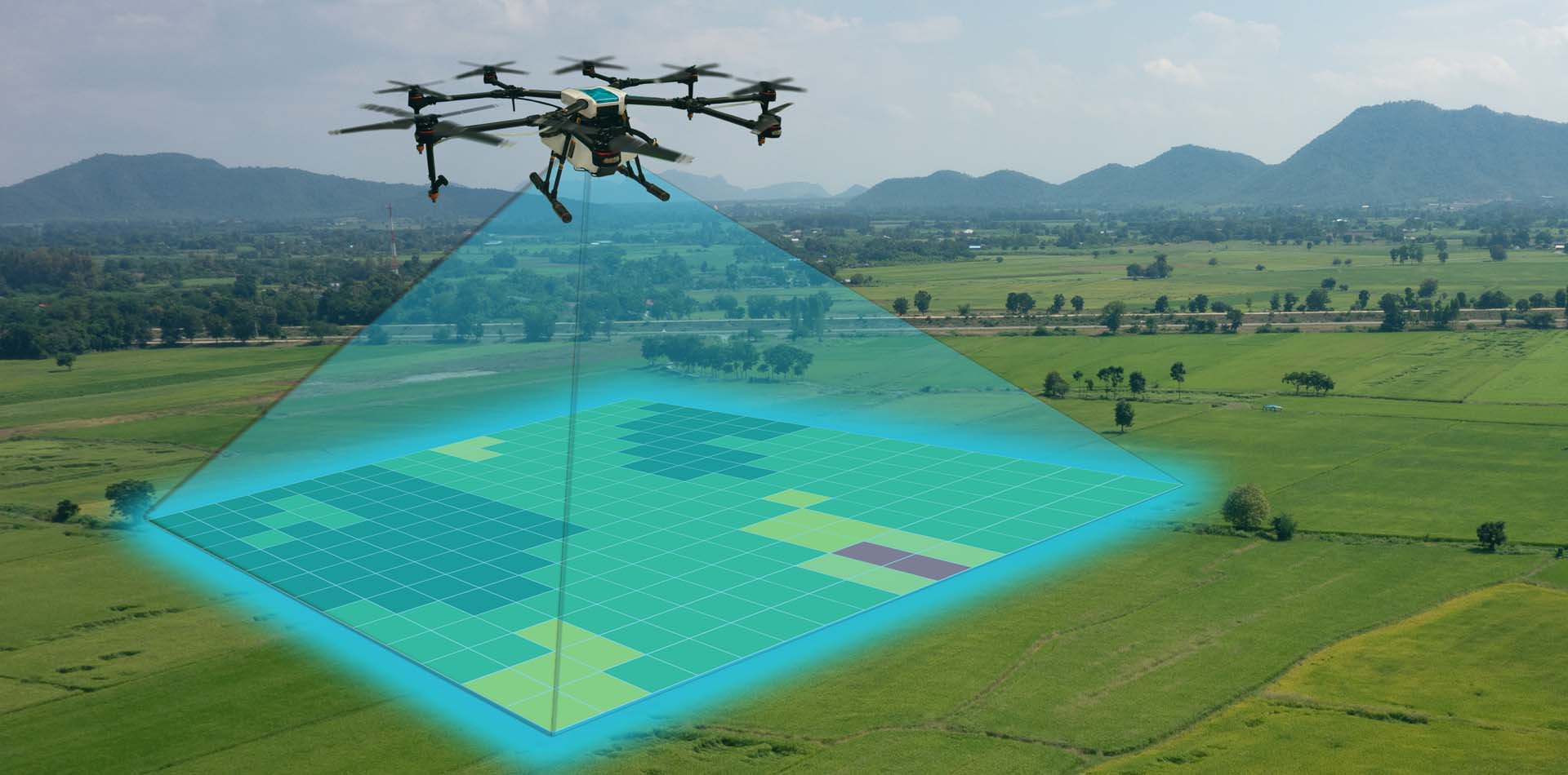 UAV technology for agriculture